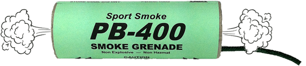 PB-400 Smoke Grenade Diagram