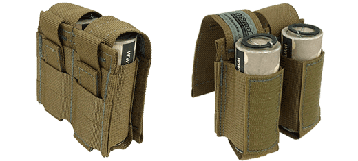 Sport Smoke Tactical Smoke Grenade Pouch Coyote Brown